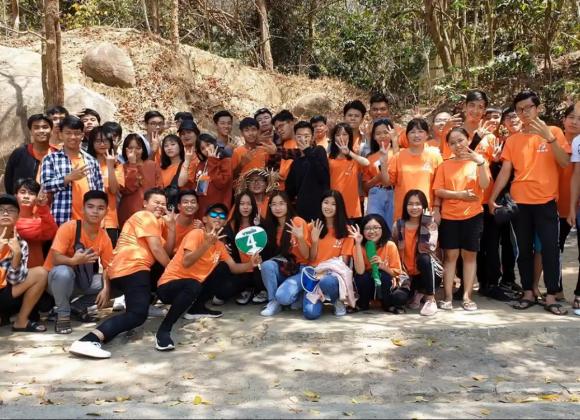 Du lịch du khảo Long Hải trường Nguyễn Huệ